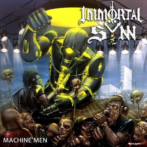 Machine Men CD cover