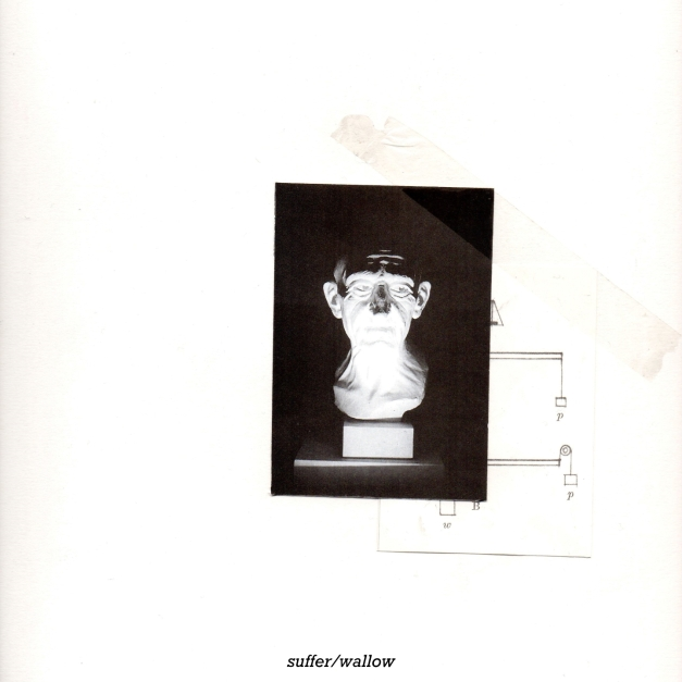 album cover with text