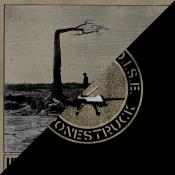 86'd Records - Rations Noise - Unknown River Driver split LP - cover